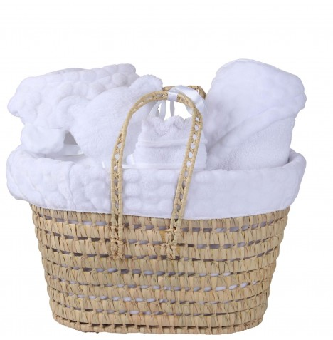 Clair De Lune Polly Marshmallow Gift Set - White